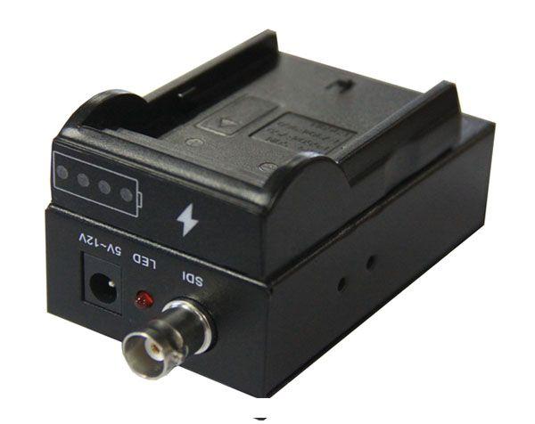 HD Video Converter alimentatore gratuito HD / 3G SDI HDMI 1080P60 Batteria Trasmettitore video HD Extender