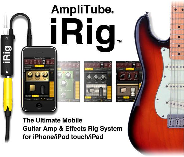 Guitar Effects Interface Adapter Converter Link for iPhone, iPod and iPad