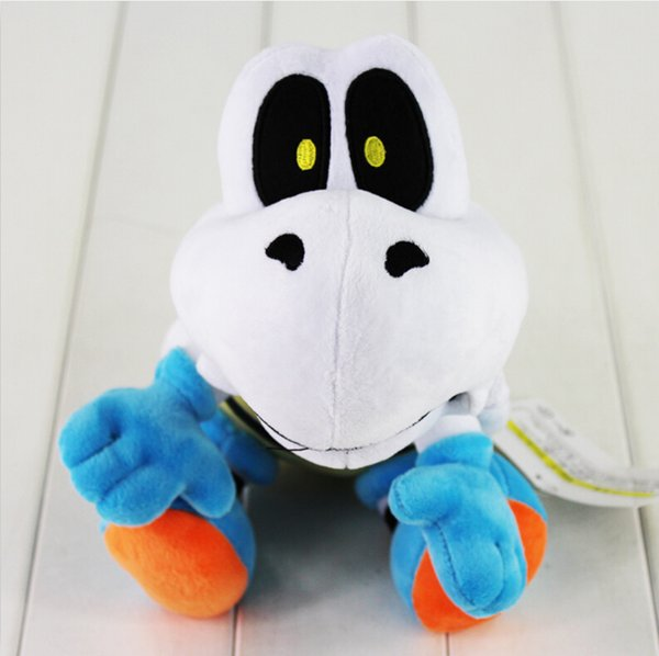 EMS Super Mario Bros Plush Toy 25cm Dry Bones Stuffed Plush Toy Cartoon Animal Toys Doll Free Shipping