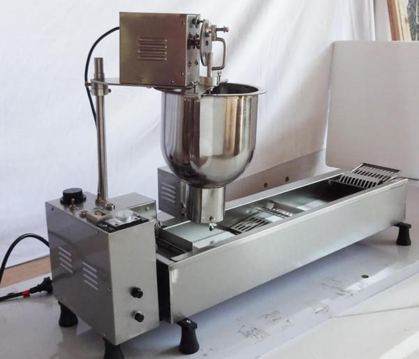 Automatische Handelsdonuthersteller-Donutmaschine, breiter Öltank, 3 Satz-Formen 110v / 220v geben Verschiffen frei