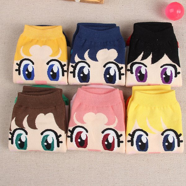 best selling High Quality Lady Socks Hosiery Korea 3d Cartoon short Socks Breathable Candy color Ladies Cute Cartoon Cotton Ankle Socks without LOGO