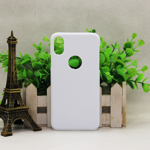 New Arrival Custom Sublimation 3D Phone Case for iPhoneX 3D White Matte Case Blank Cover for iPhone X