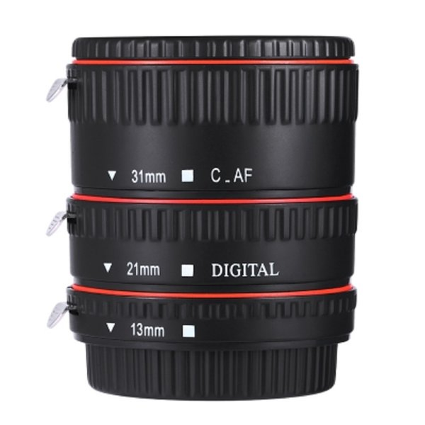 WEIHE 13MM 21MM 31MM Auto Focus Macro Extension Tubes for all Canon EF EF-S Mount Lenses