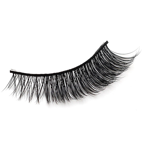 Eyelash! Handmade 1 pair of 3D Mink False Eyelashes Natural Fake Eyelashes High Qality Pular beauty Make-up Tools
