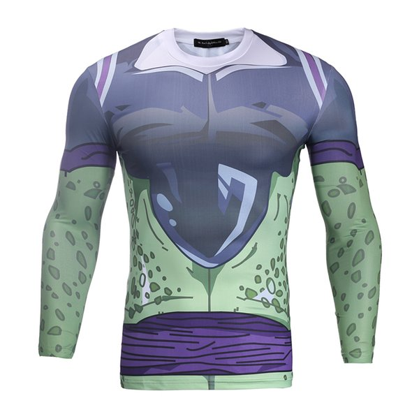 316162180cb9 Mens Fitness 3d Prints Long Sleeves T Shirts Men Bodybuilding Skin Tight  Thermal Compression Shirt Crossfit Top Gear Bl 039 Tourist Shirts Of T Shirt  From ...