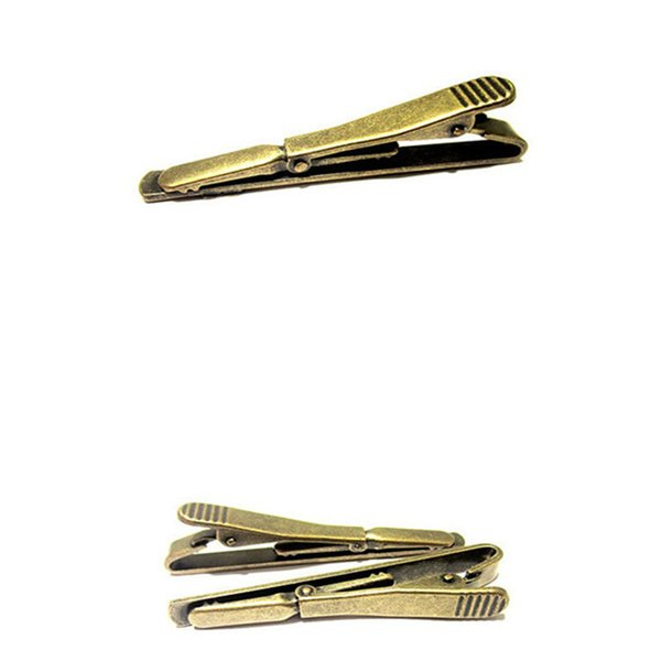 5deaa049b554 Hot sale High quality Mens Tie Clips Metal 6 Color Standard Tie Clip Clasp  Men's Clothing Accessories 1pcs