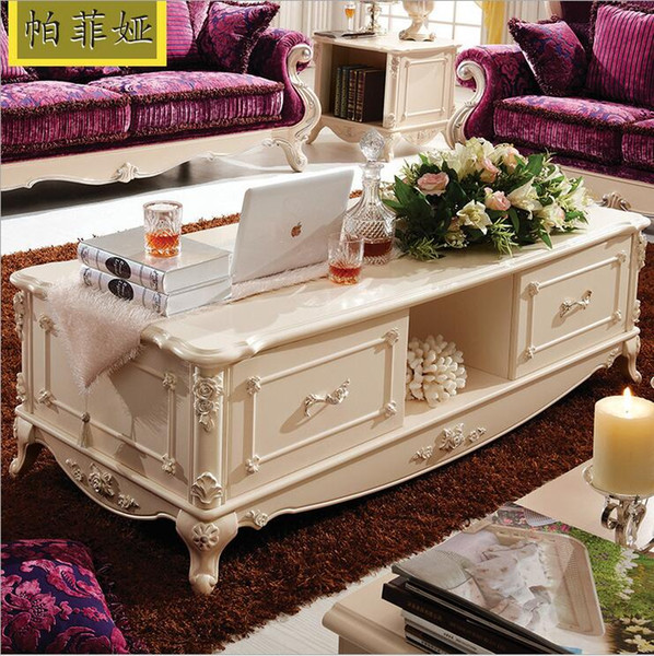 new arrival hot selling fashion European style French Italian hand carved natural marble coffee table pfy10102