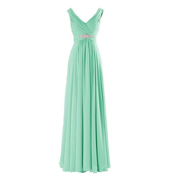 Dresses Evening Weaar V-neck Cheap Bridesmaid Elegant Special Occasion Formal Cheap Prom Plus Size Evening Bridesmaid Dresses
