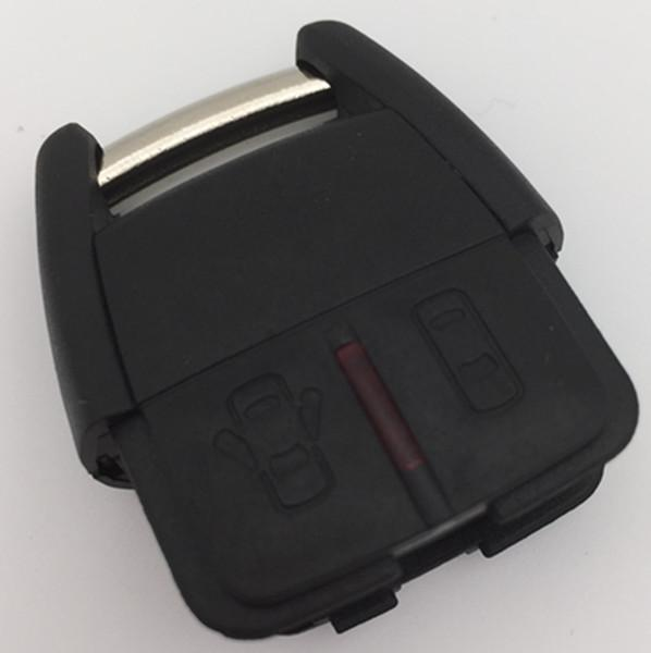 hot sell 2 buttons remote key blank shell Fob key cover for chevrolet key case 25pcs/lot free shipping
