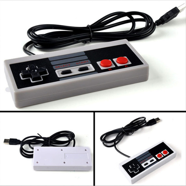 Classic Gaming USB Controller Gamepad Game Pad per Nintendo NES Windows PC Mac