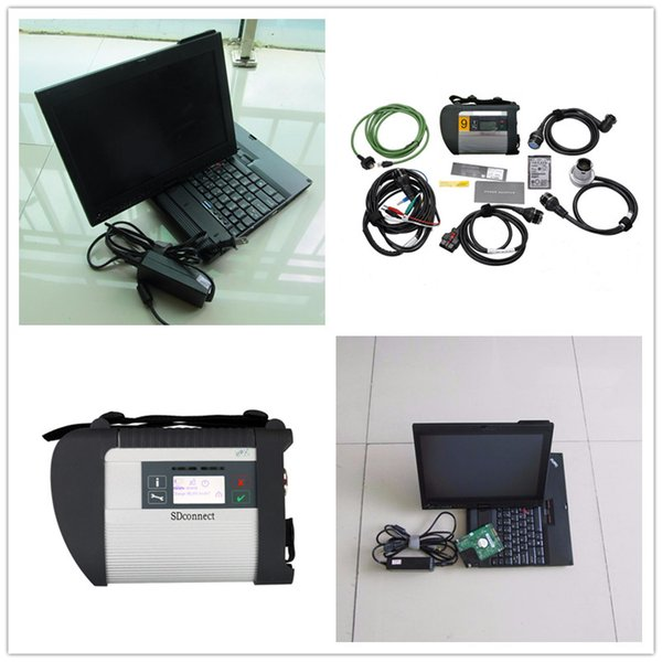 V2017.05 Top Quality MB Star C4 Sd Connect for benz With HDD Software Xentry+DAS+EPC with D630 Laptop DHL free