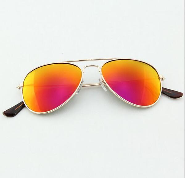 New Fashion Kids Sunglasses Dual Beam Children Baby Boys Girls UV400 Protection Sun Glasses Goggle 12 Pcs/Lot