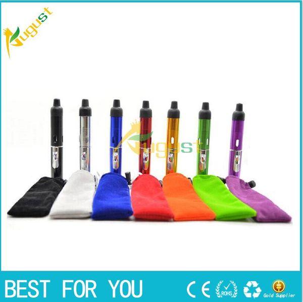 top popular smoking metal pipes Click N Vape vapor sneak a toke eshisha tank vapor Vaporizer for dry herb tobacco Wind Proof gas Lighter 2021