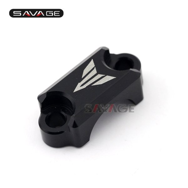 3 Colors For YAMAHA MT-09 FZ-09 FJ-09 MT09 Tracer 2014-2016 Motorcycle CNC Brake Master Cylinder Clamp Handlebar Bar Clamp Cover
