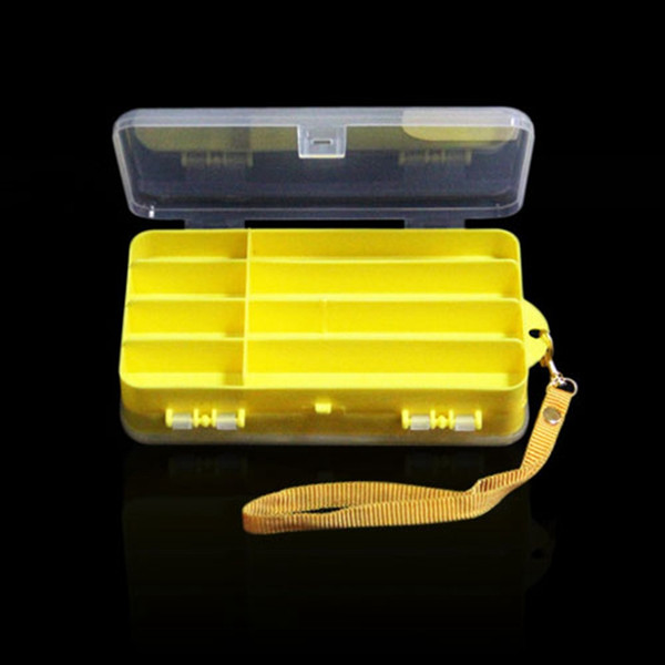 Wholesale- Durable High Quality ABS Plastic Fly Fishing Tackle Box Lure Bait Hook Storage Box Waterproof Storage Case Fishing Tackle