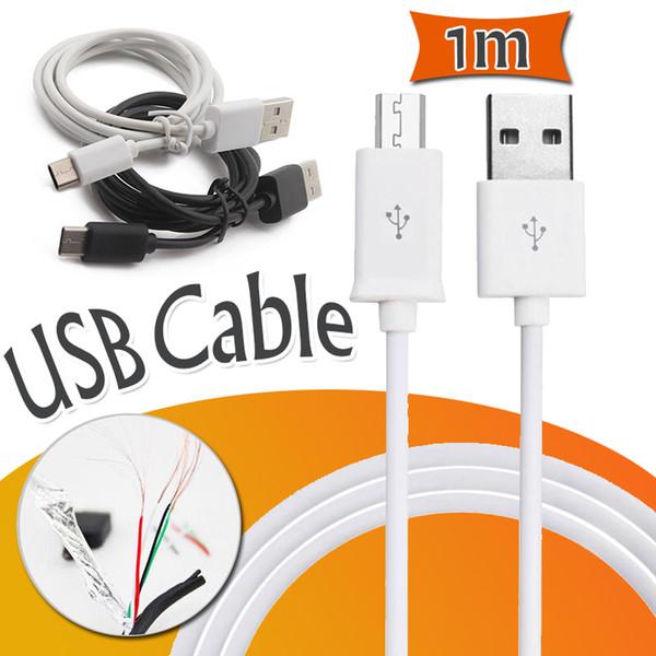 1М micro USB кабель для передачи данных типа C зарядного устройства кабель для зарядки