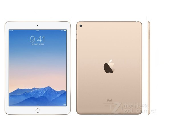 "best selling 100% Original Refurbished Apple iPad Air 2 16G Wifi iPad 6 Touch ID 9.7"" Retina Display IOS A7 refurbished Tablet Wholesale DHL"