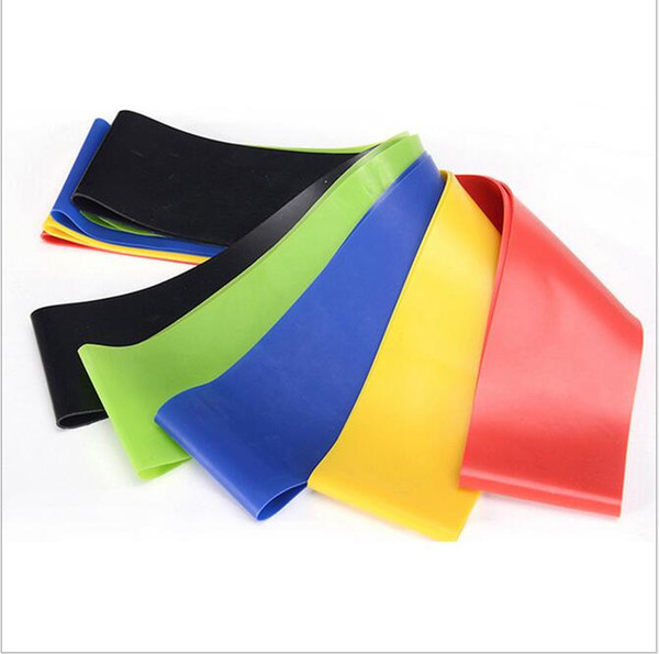 best selling Latex yoga exercise Resistance Bands Fitness equipment Stretch yoga leg training Bands Crossfit elastic band gym pilates Resistance Band