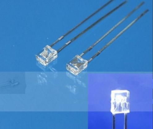top popular MIX Through Hole Rectangular 234 2*3*4mm LED Diode Red Green Blue Yellow Orange Color 2020
