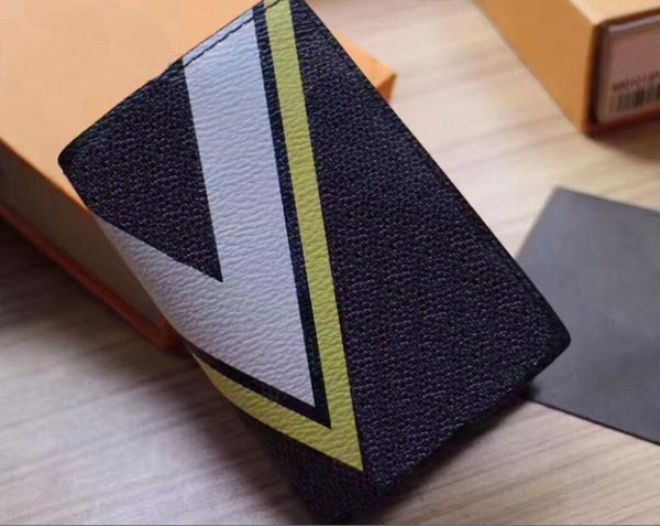 2017 American Cup series design exclusif Housse pour passeport Housse pour passeport de voyage avec logo V Gaston et nouveaux portefeuilles Damier Latitude