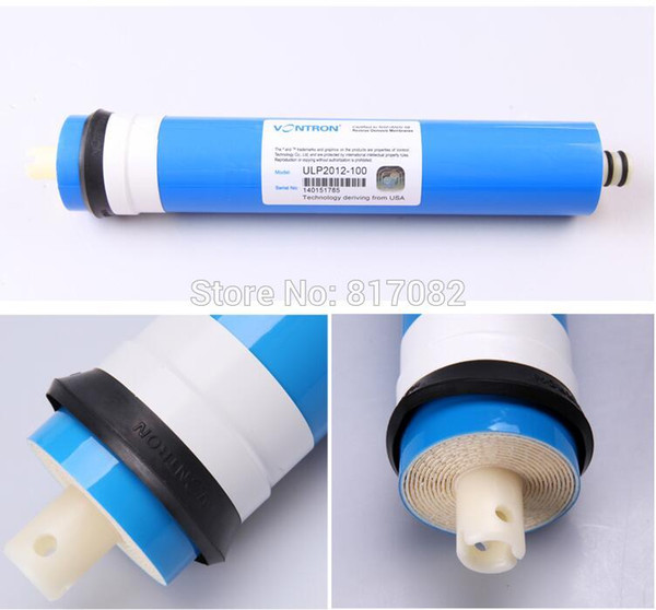 best selling New Vontron ULP2012-100 Residential Water Filter 100gpd RO Membrane NSF Used For Reverse Osmosis System