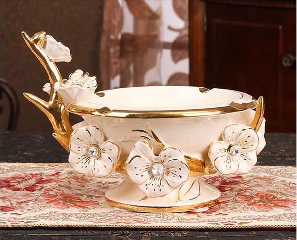 Europe style ashtray Creative ceramic ashtray Personality fashion ashtray creative gift