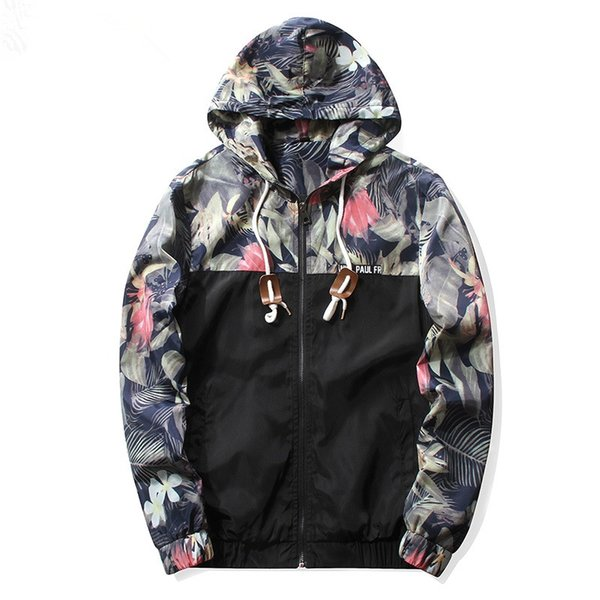 Wholesale- 2016 New Men Bomber Jacket Hip Hop Patch Designs Slim Fit Pilot Bomber Jacket Coat Men Jackets Plus Size 4XL