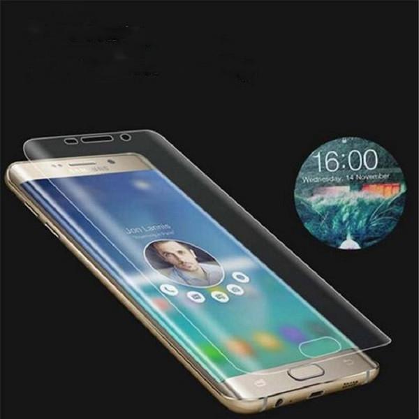 3D полное покрытие экрана протектор прозрачный прозрачный мягкий TPU полный охват изогнутые фильм гвардии для Samsung Galaxy S9 Plus S8 S7 S6 edge Примечание 8 5
