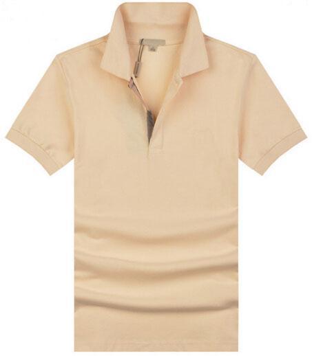 Wholesale 2019 England style Men Polo Shirt Summer Short Sleeve London Brit Polo Shirts Mens Camisa Polos Beige Navy Blue