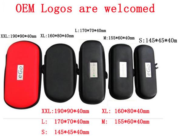 Best Price eGo Bags E Cigarette e cig Zipper Travel Cases for Mod Protank ecig eGo Starter Kit