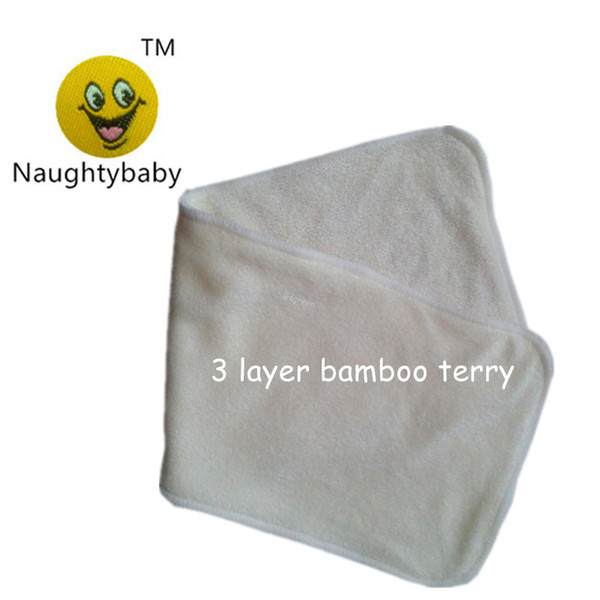 10-50PCS Reusable Baby Pure Cotton Cloth Diaper Nappy Liners Insert  3 Layers
