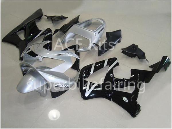 3 regalos gratis Kit de carenado de motocicleta para HONDA CBR900RR 00 01 CBR 900RR 929 2000 2001 ABS Carenados conjunto negro plata AF5