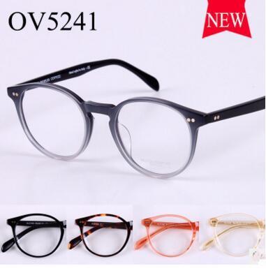 Oliver Peoples Glass frame OV5241 male ladies fashion myopia spectacle frame mirror new flat framework
