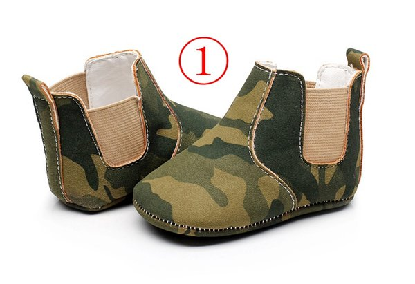 baby leopard prewalker booties infant camouflage soft sole walking shoes children pu leather firstwalking shoes 9colors choose free ship