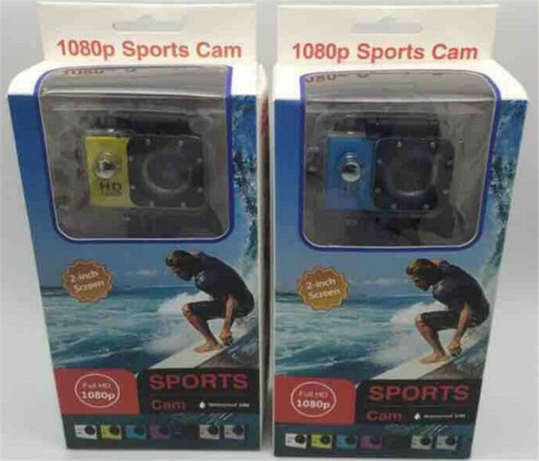top popular 2018 Hot Sport Camera action new SJ4000 freestyle 2inch LCD 1080P HD HDMI action camera 30 meters waterproof DV camera sports helmet SJca 2020