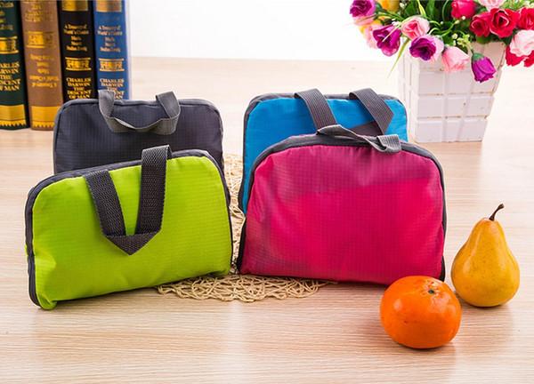 Free Ship Lightweight Foldable Travel Bag Children Skin Pack Backpack Waterproof Nylon Women Men Travel Outdoor Sports Camping Hiking Bag