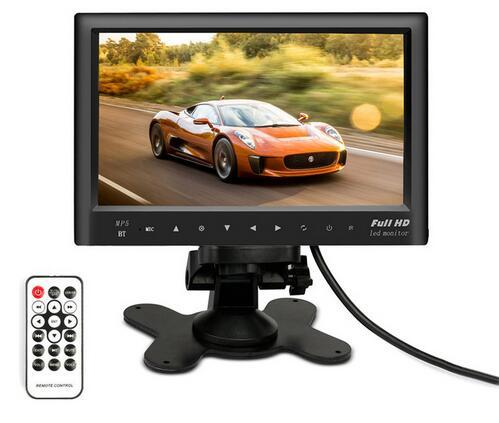 """best selling 7"""" inch LCD HD Parking Dashboard Display Screen car Rear View Monitor with MP5 Player for Cars   Bus   Truck   Caravan"""