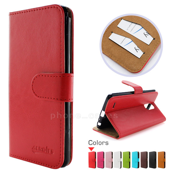 Wallet PU Flip Leather Case Credit Card Back Cover For LG Stylo 3 Plus Zmax Pro Z981 For iphone X 8 Oneplus 5