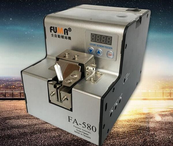 FA-580 Coclea di conteggio automatico di precisione, contatore a vite di qualità TAIWAN, dosatore automatico a vite, con allarme buzzer LLFA