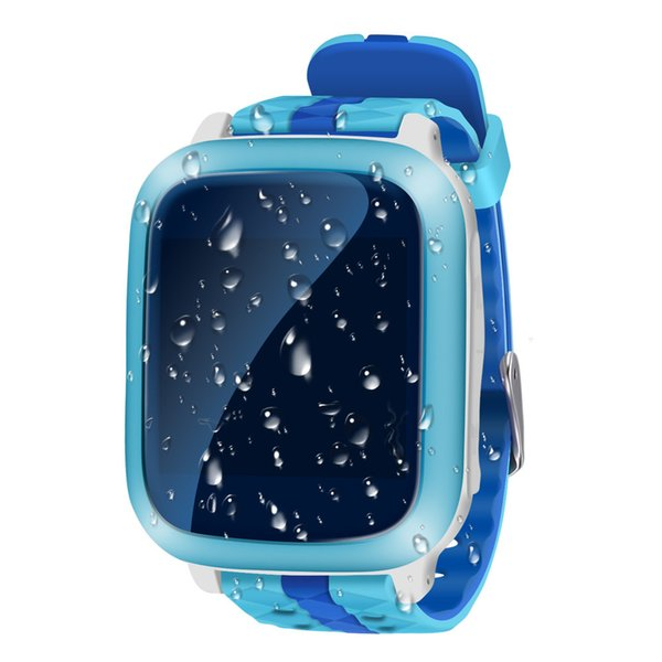 Wholesale- HESTIA Smart Phone GPS Watch Children Kid Wristwatch DS18 GSM WiFi Locator Tracker Anti-Lost Smartwatch Child PK Q80 Q90 V7K Q50