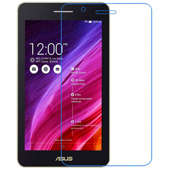 Wholesale- 2pcs/lot 9H Tempered Glass Screen Protector Film for Asus FE171 FE171MG + Alcohol Cloth + Dust Absorber