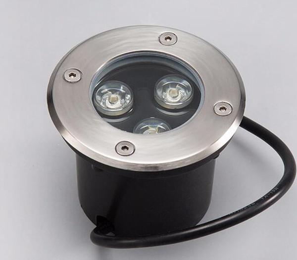 Hot sale LED Underground Light 3*3W IP68 Buried Recessed Floor Ground Path Landscape Lamp DC12V 85-265VAC
