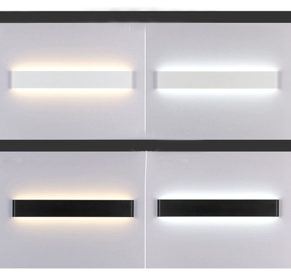 Modern LED Wall Stair Lamp Bedside Wall Light Bathroom Mirror Light Hallway Stairs Bedside Lead Deco Light 24cm/51cm/61cm/71cm/91cm/111cm