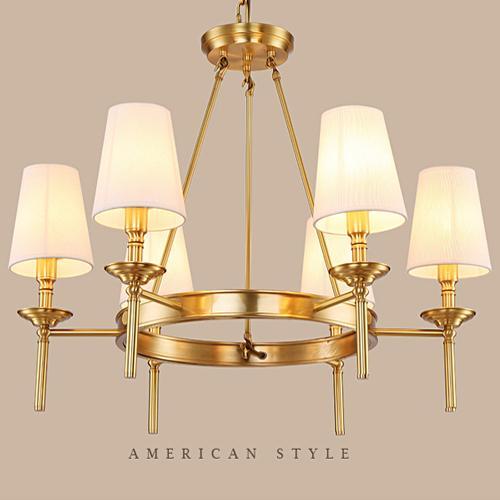 großhandel amerikanischen rustikalen stil messing kronleuchter, Hause deko