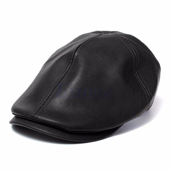 Cappello da golf da golf Gatsby Flat Cab Berretto da bavero