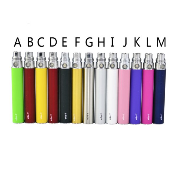EGO Battery for Electronic Cigarette E-cig Ego-T 510 Thread match CE4 atomizer CE5 clearomizer CE6 650mah 900mah 1100mah DHL Free