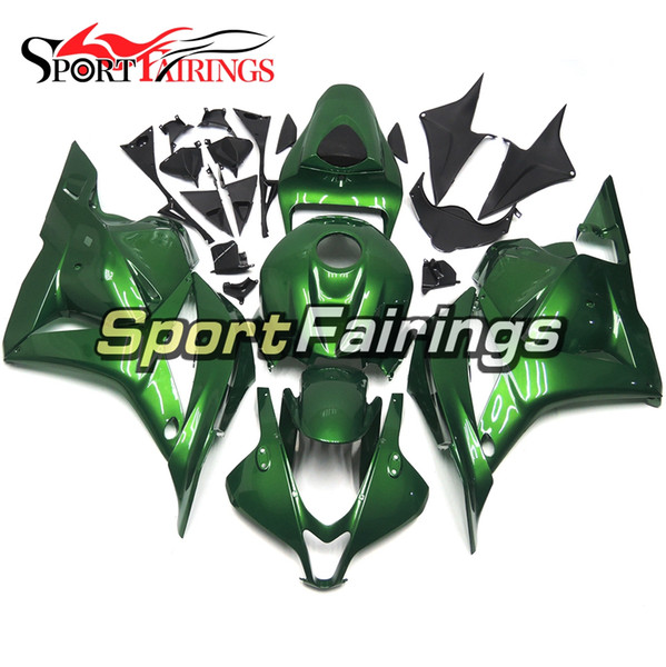 Motorcycle Full Fairing Kit For Honda CBR600RR F5 Year 2009 2010 2011 2012 Injection ABS Plastic Gloss Bodywork Pearl Green Cowlings