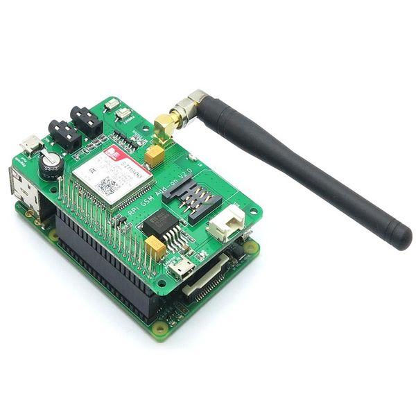 Freeshipping Itead SIM800 GSM/GPRS Module for Raspberry Pi 3 Model B Add-on V2.0 also for Raspberry pi 2