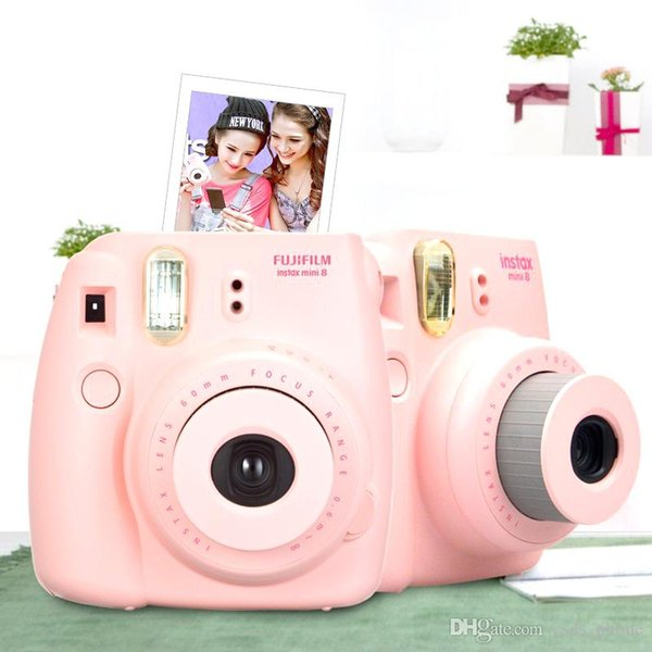 Fu Ji Mini 8 Camera Fujifilm Fuji Instax Instant Film Photo New 5