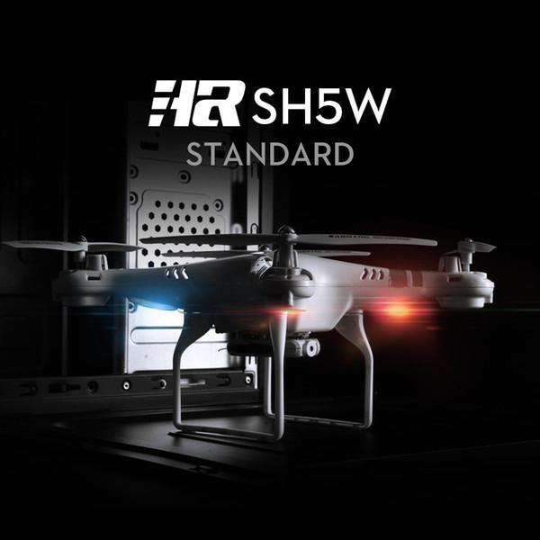 العلامة التجارية الجديدة بدون طيار 2MP كاميرا HR SH5W 4CH 6 محور واي فاي FPV كاميرا الطائرات بدون طيار 2.4GHz إرسال كوادكوبتر الطائرات البسيطة التحكم عن بعد